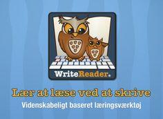 Skriv og Læs er et videnskabeligt baseret læringsværktøj, hvor børn fra 3-årsalderen ved at lave deres egne bøger kan lære at læse og skrive. App'en er udviklet af en indskolingslærer med mere end 15 års erfaring, testet i samarbejde med ledende danske læseforskere og støttet af Forsknings- og Innovationsstyrelsen.