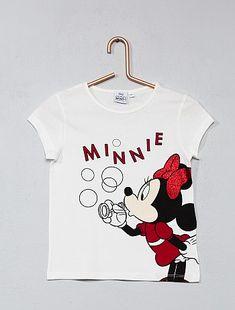 T-shirt imprimé                                                     Minnie Fille  - Kiabi