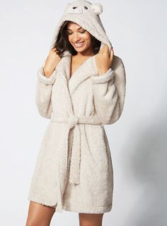 Eddie Teddy hooded robe  #loveitshopitpinit