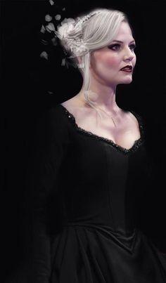 Dark Swan. This is defenily yhe look she sould had in season 5