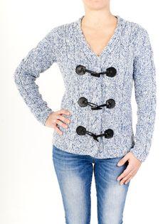 Chaqueta de mujer de cuello doble con punto trenzado ideal para la  temporada de frío. Diseño original en 6 colores. Combínala a tu gusto. ¡ Comprar ahora! d32d8340d89d