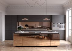 4 Fascinating Useful Ideas: Minimalist Kitchen Organization Cupboards minimalist home interior minimalism.Rustic Minimalist Home Decor minimalist bedroom layout tiny house.Rustic Minimalist Home Decor. Luxury Kitchen Design, Best Kitchen Designs, Luxury Kitchens, Interior Design Kitchen, Cool Kitchens, Modern Kitchens, Kitchen Modern, Interior Ideas, Simple Kitchen Design