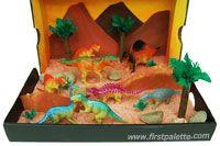 Dinosaur Diorama - Triassic Period