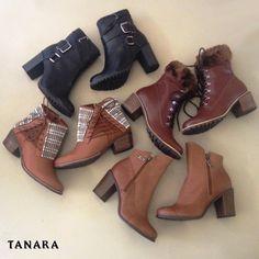 A gente sabe o que vocês vão fazer no próximo inverno: se jogar sem medo nas botinhas Tanara! :)