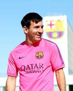 Lionel Messi no treinamento de hoje 1t-2014