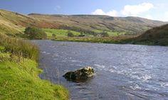 The river Eden near Kirkby Stephen.