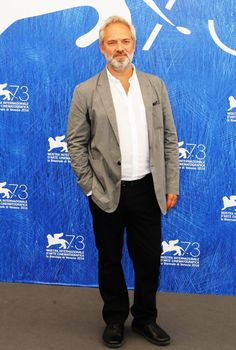 Sam Mendes - President of the Jury - poses for the press at the 73rd annual Venice International Film Festival - August 31, 2016. Sam Mendes, August 31, International Film Festival, Venice, Presidents, Poses, Music, Fictional Characters, Art