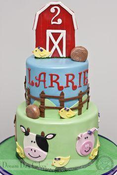 Barnyard Birthday Cake. Gainesville Bakery. | Dream Day Cakes