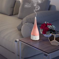 Soothing colors and vapors from Calily Essential Oil Diffusers will bring peace and tranquility to any room in your home. #calilylabs #essentialoildiffuser #aromatherapy #giftidea
