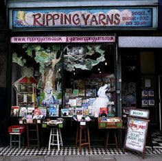 Ripping Yarns, Bookstore In London - Love the name.  [previous pinner's caption]