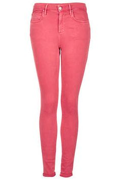Red Skinny Leigh Jeans