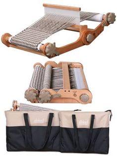 Портативный ткацкий станок с сумкой (knitters loom combo)