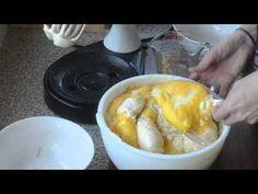 steamed caramel cake
