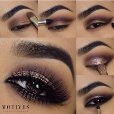 """Take a look at this fabulous pictorial using MOTIVES IN THE NUDE PALETTE❤️ apply motives eye base all over eye lid apply 'cappuccino'…"" Gorgeous Makeup, Pretty Makeup, Love Makeup, Makeup Inspo, Makeup Inspiration, Makeup Ideas, Style Inspiration, Kiss Makeup, Hair Makeup"