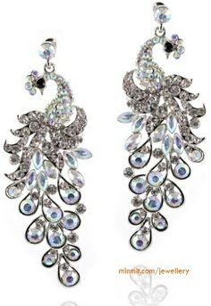 peacock-gemstone-earrings