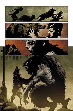 I by Maiolo on DeviantArt Dark Creatures, Mythical Creatures, Arte Horror, Horror Art, Dark Fantasy Art, Fantasy Artwork, Comic Books Art, Comic Art, Vampire Comic