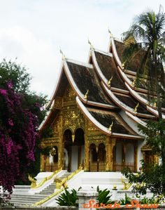 Haw Kham Royal Temple, Luang Prabang, Laos