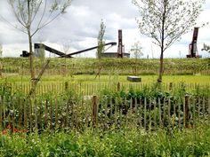 Presqu'île Rollet Park, by Atelier Jacqueline Osty & associés, Petit-Quévilly and Rouen, Seine-Maritime, France.