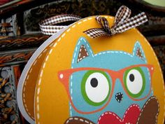 Flowerdisco's Scrap Hut: A BACK TO SCHOOL OWL CARD TAG