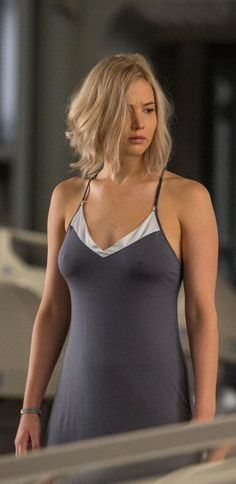 Jennifer Lawrence -- Just a little nipply . . .