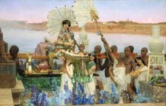 Lawrence Alma-Tadema, The Finding of Moses, 1904
