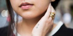 22 Tiny Temporary Tattoos That Will Transform Your Look