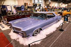 The 68th annual O'reilly Auto Parts 2017 Grand National Roadster Show presented by Meguiar's Premium Car Care Products. (1965 Custom Buick Riviera - L. Carlson)