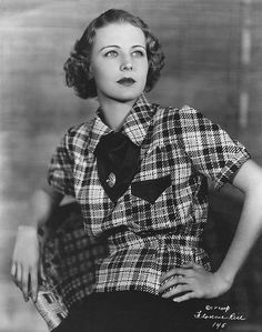 Florence Rice (Born: February 14, 1907 - February 23, 1974) in 1935. age 28 #actor