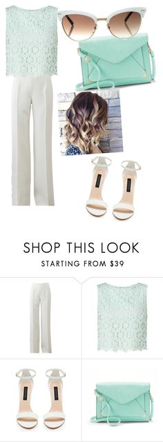 """""""pastel story"""" by balmahe on Polyvore featuring Michael Kors, Miss Selfridge, Apt. 9 and Gucci"""
