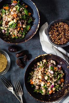 Moroccan buckwheat salad | Eat Good 4 Life Easy and delicious.