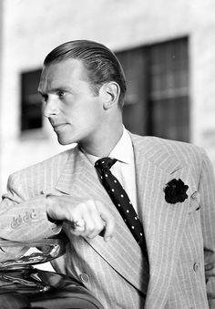 Douglas Fairbanks, Jr looking dapper in the 1930s