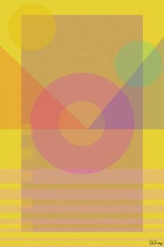 Yellow Color Theory #1 - Limited Edition 1 of 1