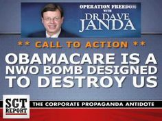 MUST LISTEN: Obamacare is a NWO BOMB DESIGNED to DESTROY US -- Dr. Dave ...