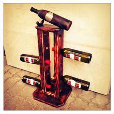 Wine bottle di FerruccilLightSystem su Etsy, €83.00