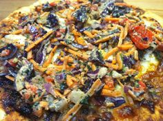 Check out our review of Trader Joe's Thai Style Chicken Flatbread Pizza!