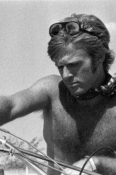 Robert Redford // Big Halsy (1969) ~ Image source http://bonjour-paige.tumblr.com