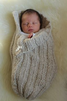Baby cocoon. So sweet