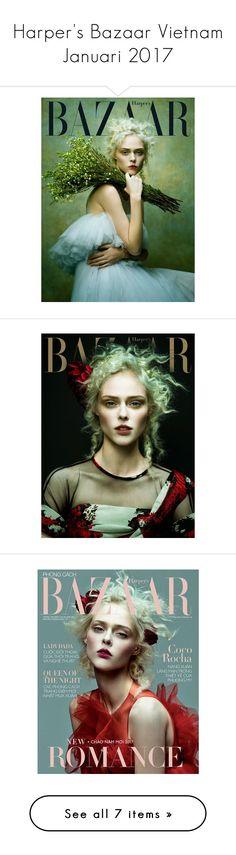 """Harper's Bazaar Vietnam Januari 2017"" by mymind-is-a-warrior ❤ liked on Polyvore"