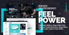 Athlete - Fluid Responsive Magento Theme - Magento eCommerce