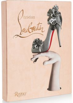 For the shoe lover on your list, the coffee table will love it too ! from Rizzoli