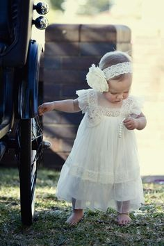 """Flower girl dress   The """"Olive"""" dress by Tea Princess Special Occasion $220"""
