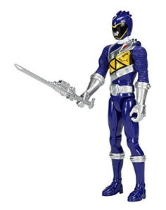 """Power Rangers Dino Charge - 12"""" Blue Ranger Action Figure"""