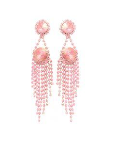 Pink Chandeliers