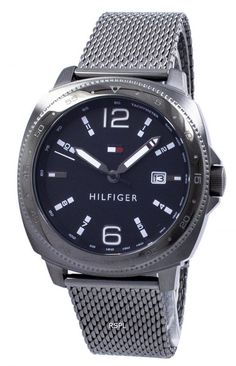 516e2237706 Tommy Hilfiger analogique Quartz tachymètre 1791427 montre homme  Analogique