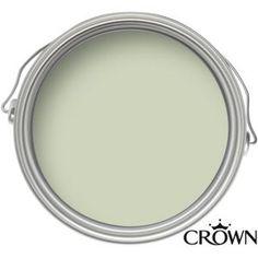 Crown Easyclean Breatheasy Almost Sage - Matt Emulsion Paint - 2.5L