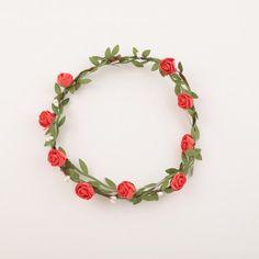 Bandeau couronne de fleurs