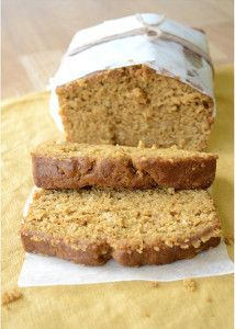 Copycat Recipe for Starbucks Pumpkin Pound Cake - tastes exactly like it! Can be made in muffin, mini muffin or mini loaf pans.