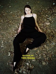 Materiel By Tiko Paksa Ad Campaign / Photo: Giorgi Wazowski / Model: Natalie Raizer