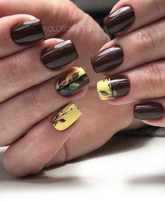 Minimalist Nails, Nail Manicure, Toe Nails, The Art Of Nails, Fingernail Designs, Fall Nail Art Designs, Nagel Gel, Square Nails, Perfect Nails