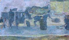 Two Hackney Cabs - Pierre Bonnard